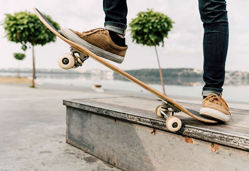 Poth Hille Own Label Skateboard Curb Kerb Wax